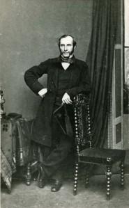 Portrait photograph of Edwin Monk