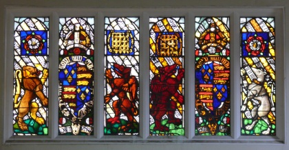 Stained glass in the Schoolroom