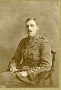 Richard Cote, Captain, 8th Bn, Royal Berkshire Regt.  kia 13 October 1915