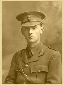 Basil Hoyle, Captasin, 9th Bn, Royal Welsh Fusiliers. kia 25 September 1915