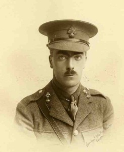 Spencer le Marchant, 2nd Lt, Royal Fusiliers. Died of wounds, 25 April 1915