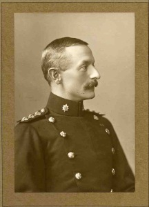 Cecil Palmer. Lt-Col commanding 9th Bn, Royal Warwickshire Regt.  kia 26 July 1915
