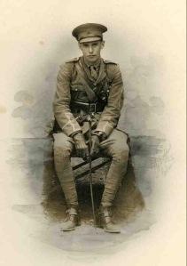 Gavin Paul, 2nd Lt, 2nd Dragoon Guards. kia Battle of Messines, 31 October 1914