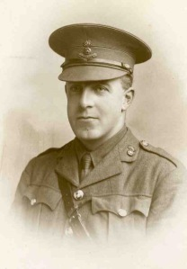 Gibert Pige-Leschallas, Captain, 7th Bn, Royal Dublin Fusiliers.  kia 16 August 1915