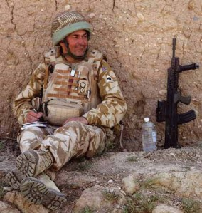 Lt Col Rupert Thorneloe, Officer Commanding 1st Bn Welsh Guards. kia Afghanistan 2009