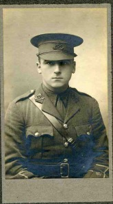Charles Hind, Lt, 2nd Bn South Staffordshire Regt.  kia 19 May 1916