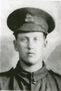 Edwin Mattingley, c1916. Copyright Radley History Club