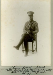 Walter Birch, Captain, 6th Bn, Ox & Bucks LI. kia Battle of the Somme