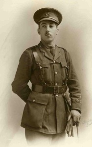 Theodore Ionides. 2nd Lt, 2nd Bn, Ox & Bucks LI. Died of wounds received at Beaumont Hamel