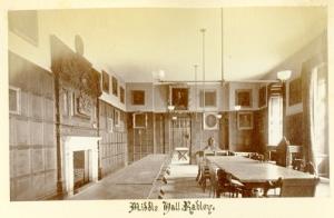 Henry Tayunt. Dining Hall, c1890