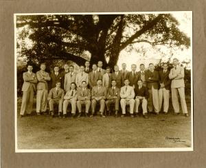 Public Schools British Empire Tour Cricket Team 1931