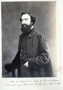 William Wood, DD, Sub-Warden 1855-66 & Warden 1866-70 of Radley College