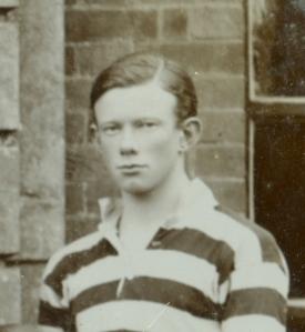 Alick Blyth. Radley College Rugby XV, 1914