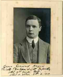 Private George Haggie, Yorkshire Regiment. kia Passchendaele