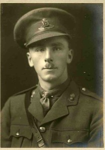 Lt Geoffrey Hodgkinson, Royal Field Artillery. kia 24th July 1917