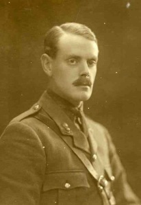 Captain Claude Hunt, Royal Field Artillery.  Died of wounds, 12th April 1917