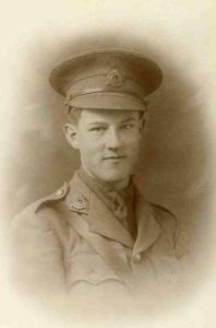 Lt Walter Jessopp, Machine Gun Corps. Killed at Passchendaele