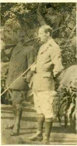Lt Arthur Knapp, Nyasaland Field Force. Died on active service 27 May 1917