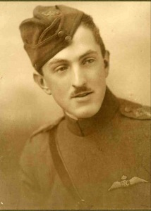 Captain John Milne, MC. RFC, missing October 1917