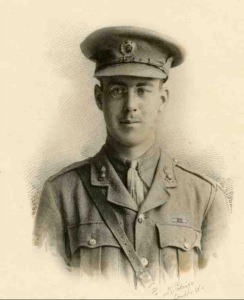 Lt Maurice Mowbray, MC. Killed at Passchendaele