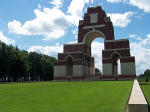 Thiepval Memorial. CWGC photo