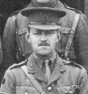 Caotain James Wilson, MC. Royal Army Medical Corps