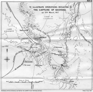 General Maude's Mesopotamia Campaign. c. Ordnance Survey 1925