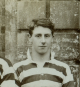 Gilbert Vawdrey, member of Radley's earliest Rugby XV, 1914